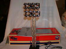 Lionel 6-82013 Double Floodlight Tower O 027 New MIB Plug n Play 16 LED Lights