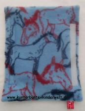 Gurtpolster Sicherheits-Gurtpolster Pferde-Gurtpolster blau Autogurt mit Motiv