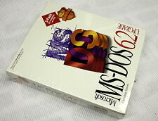 """Rare  MS-DOS Upgrade 6.2 - 3.5"""" & 5.25"""" Disks New Sealed- ships worldwide"""