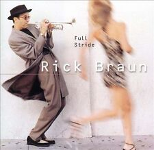 BRAUN,RICK-FULL STRIDE CD NEW