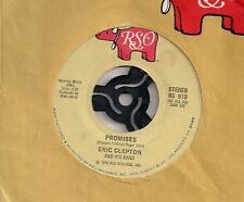 """Eric Clapton Promises US 45 7"""" single USA +Watch Out For Lucy"""