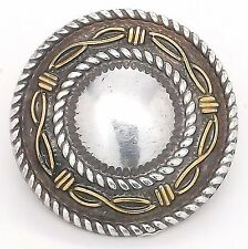 """Angel Fire Round Concho 1-1/2"""" 7731-10 by Tandy Leather"""