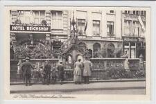 AK Köln, Heinzelmännchen-Brunnen, Hotel Reichshof, 1926