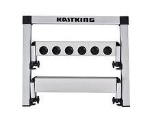 KastKing Foldable Fishing Rod Storage Rack Aluminum Flat Rod Pole Holder Stand