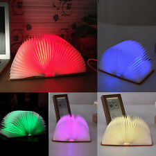 Lumio Style LED FOLDING BOOK LAMP 5 Colors LIGHT Home Office Decor Xmas Gift
