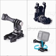 360° Rotation Camera Stand Adapter for Gopro Hero5 Black 5 Session Action +Screw
