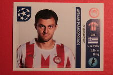 PANINI CHAMPIONS LEAGUE 2011/12 N 381 PAPADOPOULOS OLYMPIACOS BACK BACK MINT!!