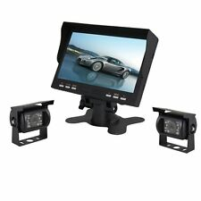Esky 7-Inch TFT LCD Color Monitor Car Backup Rear View Camera System Night Side