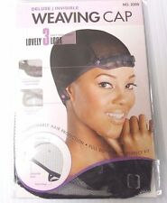 Deluxe, Invisible Net,  Weaving Cap - Adjustable Band | Flexi-Wings
