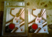 2004 SP ROOKIE FABRIC LUOL DANG GRADED 9 JERSEY becket + SAME UNGRaded