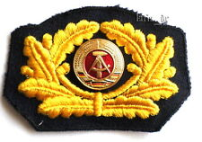 DDR NVA pueblo marine mützenkranz Patch bordados. para uniforme-gorro Navy Patch
