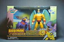 "Toynami BIRDMAN and AVENGER 6"" action figure MIB Hanna Barbera"