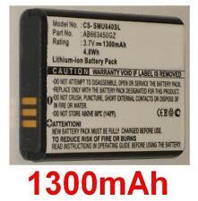 Batterie 1300mAh type AB663450GZ Pour Samsung SCH-U660 Convoy 2