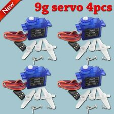 4pcs Rc Servo 9g Mini Micro for Trex Align 450 Rc 6ch Helicopter Airplane Car U