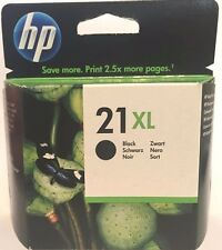 HP 21XL High Yield Black Original Ink Cartridge (C9351CE) NEW