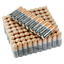 100 PCS Duracell AA  Alkaline Batteries  Duralock Bulk Wholesale - Exp. 2026