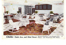 CHILD'S HERALD SQUARE RESTAURANT, 6TH AVE & 32ND ST. NEAREST GIMBELS STORE, NYC