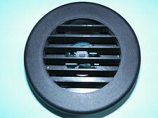 "*NEW* Round Furnace Heating Heater Heat Plastic Rotaire Vent, BLACK, 2"" Hose RV"