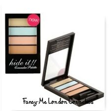 Technic, Hide It Concealer Palette 4 SHADES Corrector Eye Dark Circle SEALED