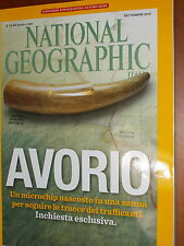 National Geographic 2015 settembre#Avorio,Elefanti a Roma, Tesori Afghani,ppp