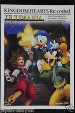 JAPAN Kingdom Hearts Re:coded Ultimania (Guide Book)