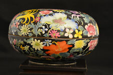 Antique Chinese oriental Porcelain Box or bowl -V035