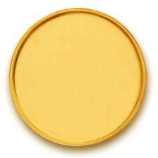 P.N.Gadgil BIS Hallmarked 1 gms, 24k (995) , Plain Gold Coin
