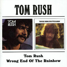 Tom Rush/Wrong End Of The Rainbow [Remaster] by Tom Rush (CD, Jan-1999, Bgo)