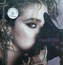 "Rare ! Madonna The Virgin Tour Live at Amphitheater  1985 12"" Clear Wax LP Vinyl"