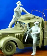 Djiti's 1/35 Commonwealth Soldiers WWII Set (Austin Tilly Tamiya & others) 35021