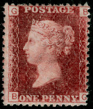 Sg44, 1d lake-red plate 174, UNMOUNTED MINT. Cat £45+. BG