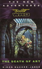 Dr Doctor Who Virgin Missing Adventures Book - The Death of Art- (Mint New)
