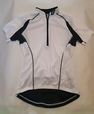 Specialized Women's White SS Bicycle Jersey X-Small Cycling 100% Polyester