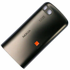 100% Genuine Nokia C3-01 battery cover dark grey rear gun metal back housing