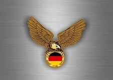 sticker car auto moto tuning decal jdm macbook flag eagle biker germany german