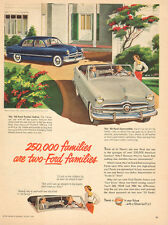 1950 classic car AD New '50 Ford Sedan and Convertable be a 2 Ford Family 041616