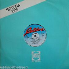 """JEROME ~ Betcha ~ 12"""" Single PS"""