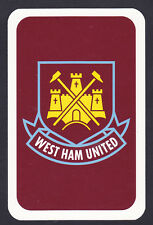 West Ham United. Football Club Single Playing Card