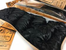 3 Packs of EVE Hair 100% Human WEAVE Hair 27pcs COLOR - #1 - JET BLACK