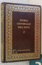 STORIA UNIVERSALE DELL ARTE Vol 2 Dai Sumeri ai Persiani Francesco Abbate Fabbri