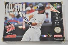 ALL-STAR BASEBALL 99 - N64 Game - Nintendo - PAL - Boxed & Complete