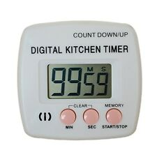 Large LCD Digital Kitchen Cooking Timer Count-Down Up Clock Loud Alarm HOT