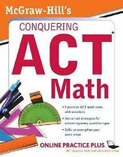 McGraw-Hill's Conquering the ACT Math, Dulan, Steven, Good Condition, Book
