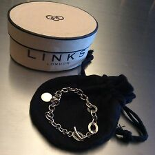 Links of London Classic Sterling Silver Charm Bracelet