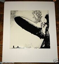 LED ZEPPELIN I ~ LIMITED EDITION PRINT HAND SIGNED & NUMBERED BY GEORGE HARDIE