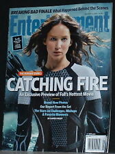 Jennifer Lawrence The Hunger Games cover Oct 11,2013 Entertainment Weekly