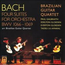 Bach: Four Suites for Orchestra Arranged for Guitar Quartet, New Music