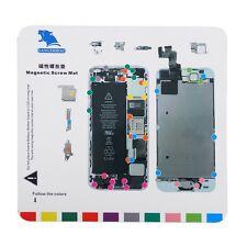 Professional Magnetic Screw Mat Technician Repair Pad Guide For iPhone 5 5S UR