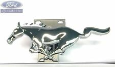 LOOK! NEW OEM FORD MUSTANG PONY CHROME FRONT GRILLE BRACKET EMBLEM XR3Z-8A224-AA