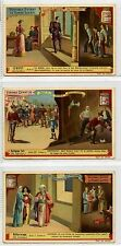 Full Set, Liebig (OXO) S459, Behind Scenes (Theatre) (X6) 1895 VG (Gu624-322)